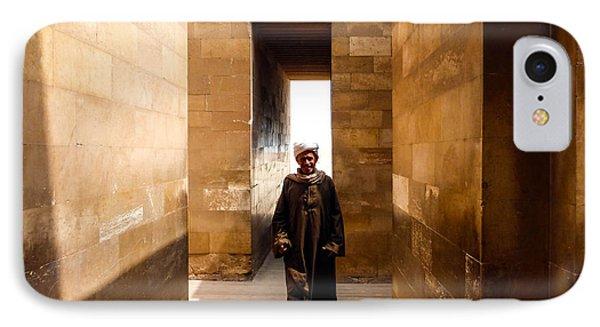 Saqqara Temple IPhone Case
