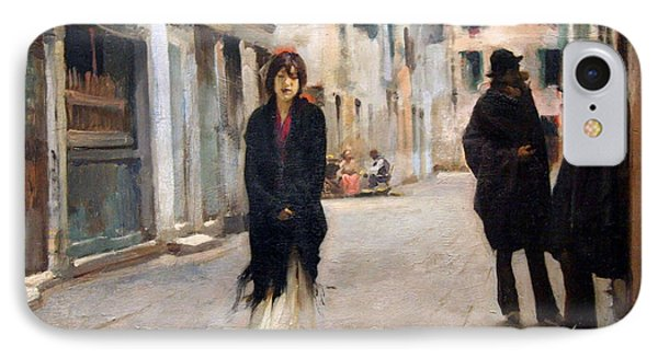 Sargent's Street In Venice IPhone Case
