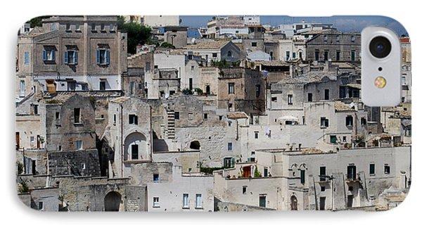 Sassi Of Matera Italy IPhone Case