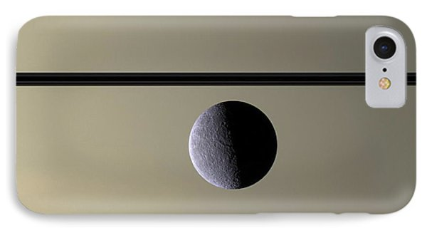 Saturn Rhea Contemporary Abstract IPhone Case