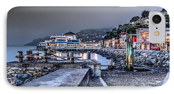 Sausalito Waterfront 3 IPhone Case