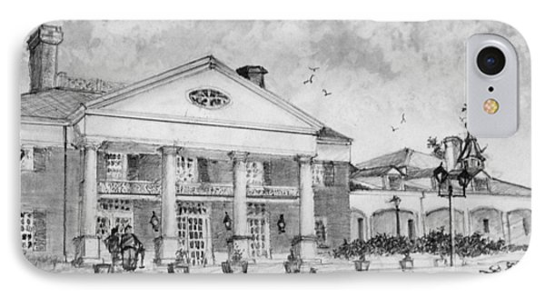 Savannah Center IPhone Case