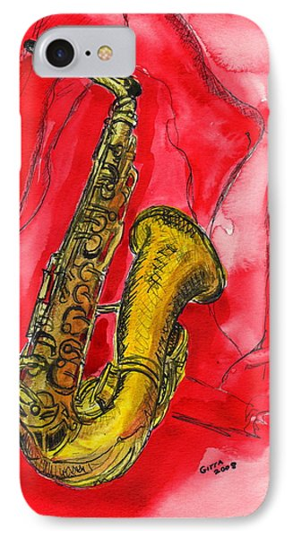 Saxophone IPhone Case