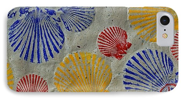 Scallops - Seafood Rainbow IPhone Case