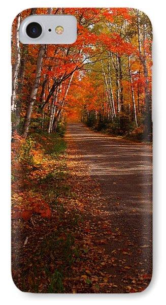 Scenic Maple Drive IPhone Case