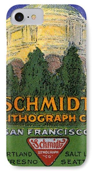 Schmidt Lithograph  IPhone Case