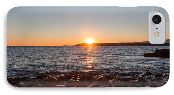 Scoodic Park Sunset  IPhone Case