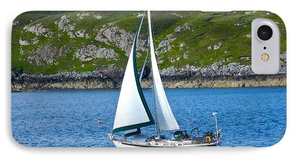 Scottish Sails IPhone Case