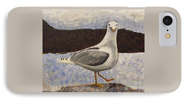 Scottish Seagull IPhone Case