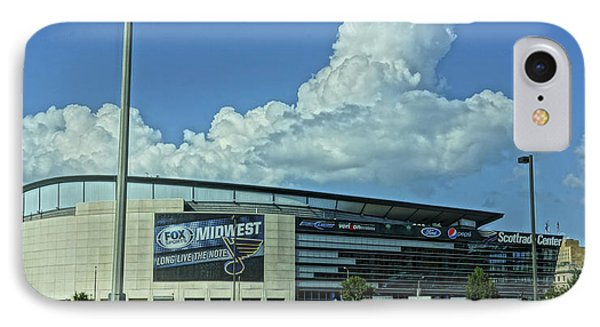 Scottrade Center Home Of The St Louis Blues IPhone Case