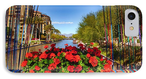 Scottsdale Waterfront IPhone Case