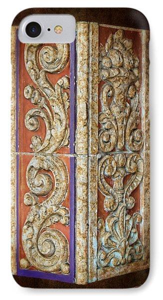 Scrolled Column IPhone Case
