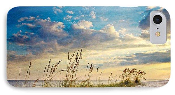 Beach iPhone 8 Case - Sea Oats Sunset by Joan McCool