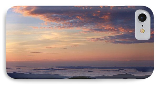 Sea Of Clouds Blue Ridge Mountains IPhone Case