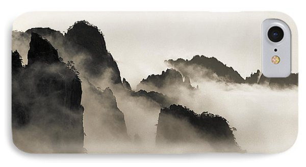 Mountain iPhone 8 Case - Sea Of Clouds by King Wu