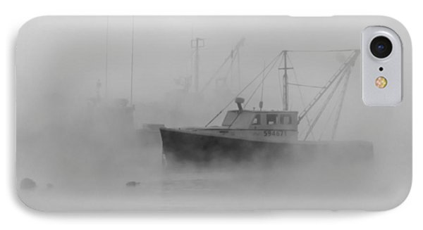 Sea Smoke Jonesport Maine  IPhone Case