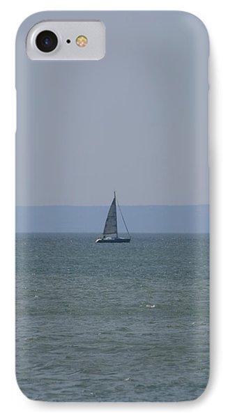 Sea Yacht  Land Sky IPhone Case