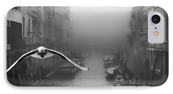 Seagull From The Mist IPhone Case