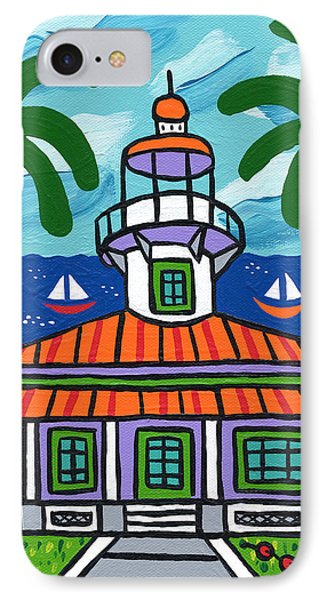 Seahorse Key Lighthouse IPhone Case