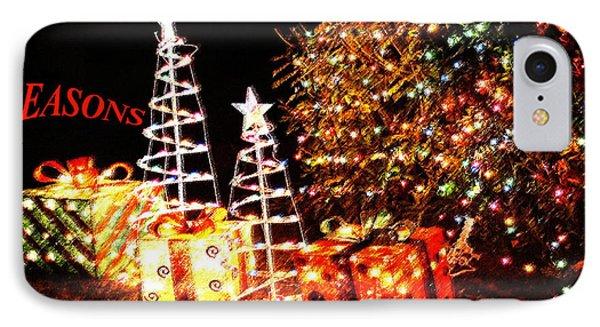Seasons Greetings Card IPhone Case
