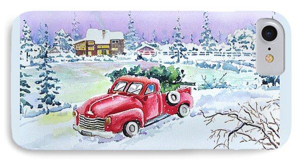 Winter Season IPhone Case
