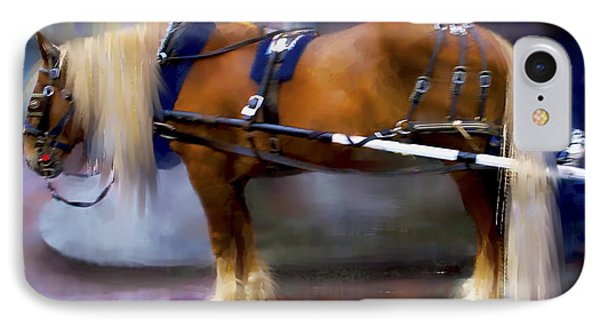 Seattle Carriage Horse IPhone Case