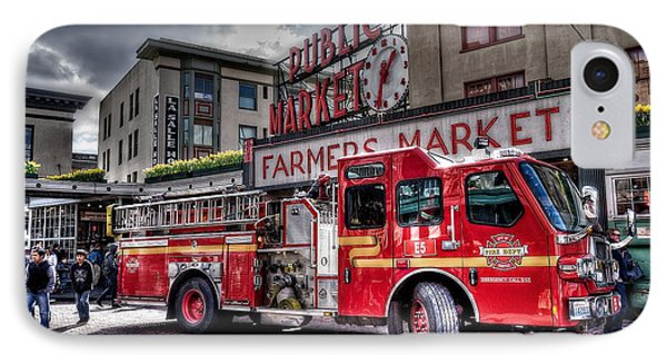 Seattle Fire Engine IPhone Case