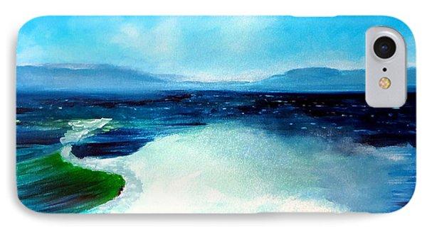 Secret Beach Surf Art IPhone Case