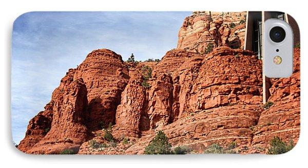 Sedona Arizona - Church Of The Holy Cross IPhone Case