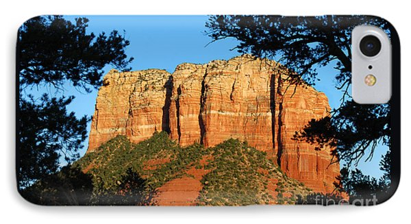 Sedona Courthouse Butte  IPhone Case