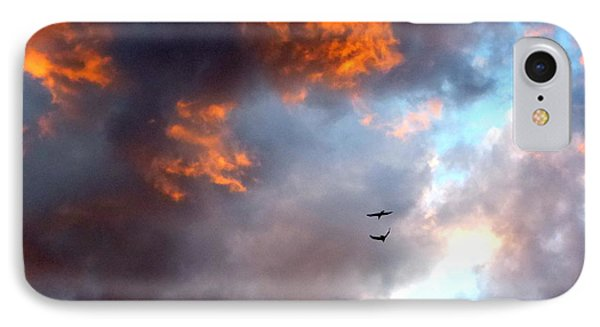 Sedona Sunset Ravens IPhone Case