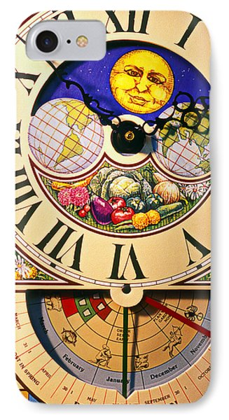 Seed Planting Clock IPhone Case