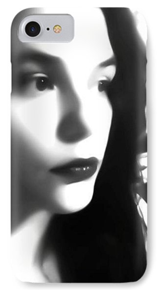 Self-portrait For Nancy IPhone Case
