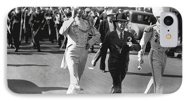 Senator Huey Long In Parade IPhone Case