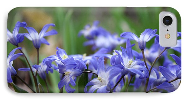 Send Flowers Fine Art Print Sweet Squill By Penny Hunt Floral Macro IPhone Case