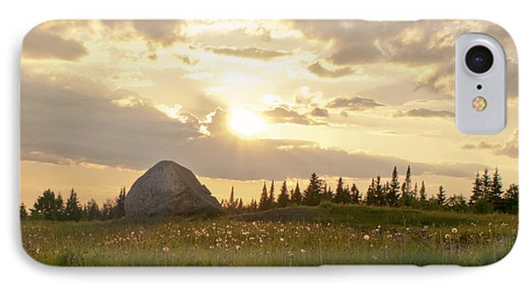 Sentinel Rock Sunset IPhone Case
