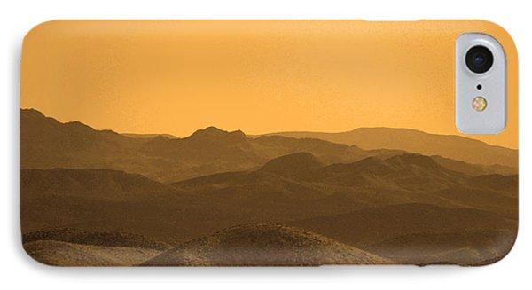 Sepia Mountains IPhone Case