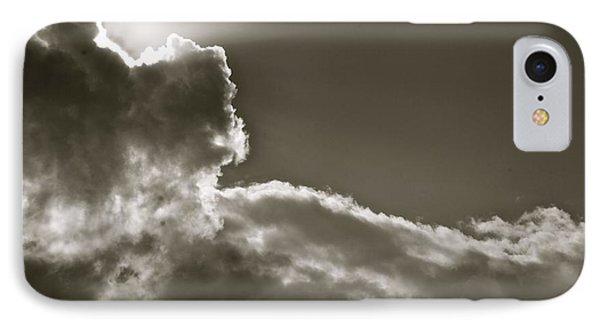 Sepia Sun Ray IPhone Case