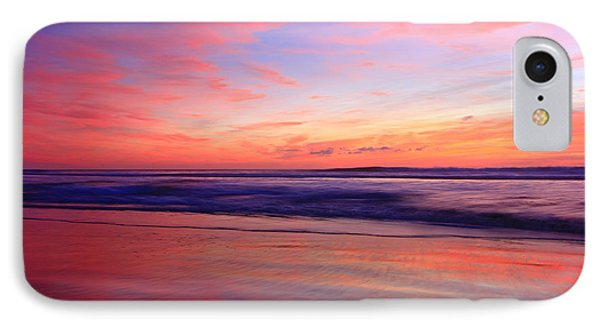 IPhone Case featuring the photograph Serene Oceanside Glow by John F Tsumas