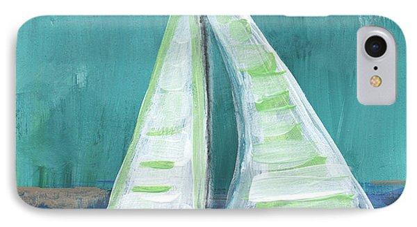 Set Free- Sailboat Painting IPhone Case
