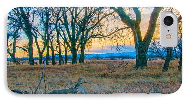 Setting Sun At Rocky Mountain Arsenal_1 IPhone Case