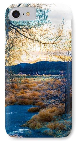 Setting Sun At Rocky Mountain Arsenal_2 IPhone Case
