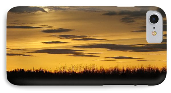 IPhone Case featuring the photograph Setting Sun by Gene Cyr