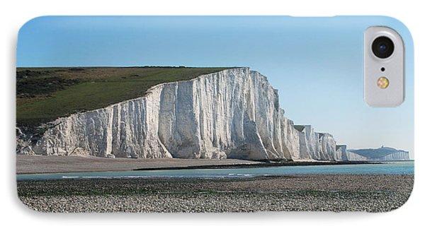 Seven Sisters Chalk Cliffs IPhone Case