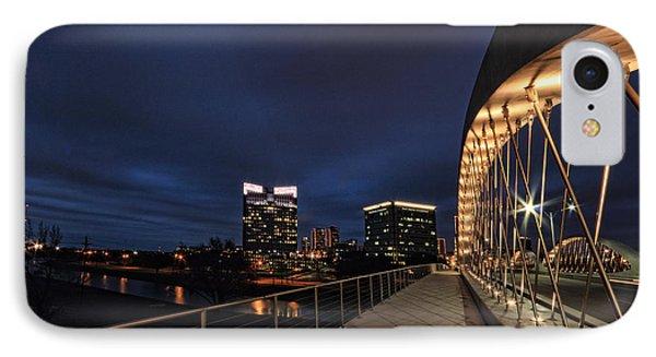 Seventh Avenue Bridge Fort Worth IPhone Case