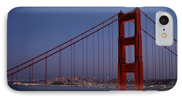 Sf Through The Bridge IPhone Case