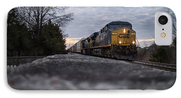 Shadow Train IPhone Case