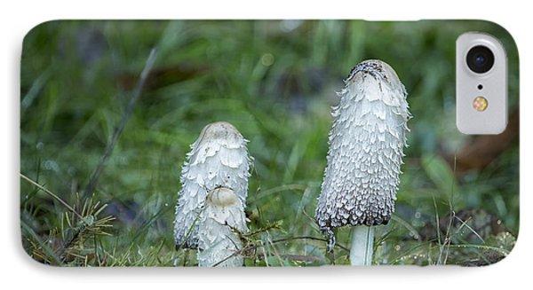 Shaggy Cap Mushroom No. 3 IPhone Case