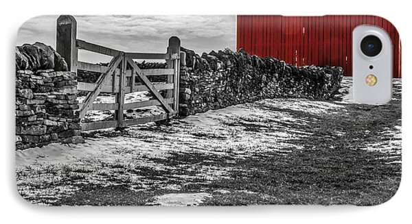 Shakertown Red Barn - Sc IPhone Case