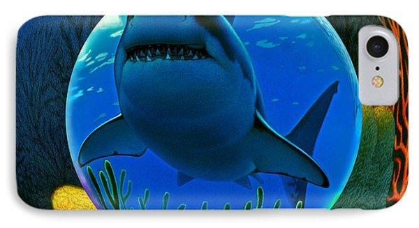 Shark World  IPhone Case